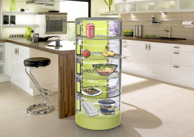 Conserve Fridge – cool air inside